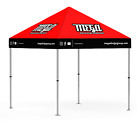10x10 Custom Printed Canopy Kits Pop-Up Tent Full Color Dye Sublimation