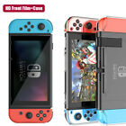 1~5x Full Protective Hard Case Cover + HD Clear Film Skin For Nintendo Switch US
