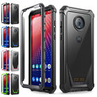 Motorola Moto Z4 2019 Rugged Clear Case,Poetic® Shockproof Bumper Cover