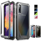 Galaxy A50 / A20 Case Poetic® Hybrid Shockproof Clear Back TPU Bumper Cover