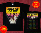 Nelly, TLC & Flo Rida Tour 2019 with Dates  T Shirt Size S - 2XL image
