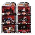Harley Davidson Motorcycle 6 piece Set Series 36 1/18 Diecast Models by Maisto $125.0 USD on eBay