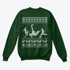 Ugly Christmas Sweater For Soccer Lovers Hanes Unisex Crewneck Sweatshirt
