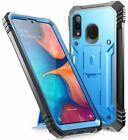 Galaxy A50 / A20 / A6 ,Poetic [Dual Layer] Shockproof Hard Shell Case Cover