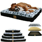 Waterproof Large Dog Pet Bed Non-slip Home Cushion Matterss Bed w Washable Cover