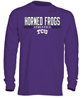 Old Varsity Brand Men's OVB Long Sleeve Thermal Shirt, TCU Frogs, Northwestern