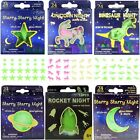 Glow In The Dark Stars Planets Moons Dinosaurs Unicorns Ceiling Wall Stickers