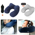 Travel Car Air Plane Sleep U-shaped Neck Support Pillow Inflatable Cushion Hot image