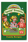 Laminated Steven Rhodes Let's Make Special Brownies Poster 24 x 36 Inches