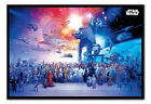 Framed Star Wars Universe Poster Official Licensed 26 x 38 Inches
