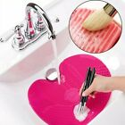Makeup Brush Cleaner Silicone Pad Washing Scrubber Board Cleaning Mat Hand Tool