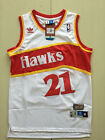 Dominique Wilkins #21 Atlanta Hawks Throwback Swingman Jersey White Size S-XXL on eBay