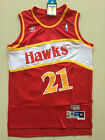 Dominique Wilkins #21 Atlanta Hawks Throwback Swingman Jersey Red Size S-XXL on eBay