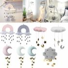 Nursery Style Moon Cloud And Star Baby Bed Mobile Hanging Room Decor Accessories