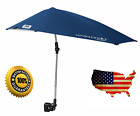 Umbrella For Baby Stroller Golf Cart Wheelchair Adjustable Sunshade With Clamp