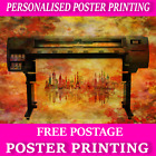 A0 Custom Poster Printing personalised Poster prints Your poster A4 A3 A2 A1 A1