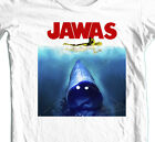 JAWAS Star Wars T-shirt  C3PO JAWS retro 70's parody100% cotton graphic tee $19.99 USD on eBay