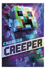 """LAMINATED Minecraft Charged Creeper Poster Officially Licensed 24X36"""""""