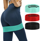 1PC Resistance Bands Hip Circle Booty Band Loop Glute Leg Squat Gym Fitness US image