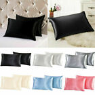 Pure Mulberry Silk Pillow Case Cushion Cover Waist ThrowHome Decor 50X70cm image