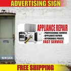 APPLIANCE REPAIR Advertising Banner Vinyl Mesh Decal Sign FAST SERVICE WE FIX photo
