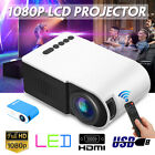 7000 Lumens 3D LED Projector Full HD 1080P Home Cinema Theater Multimedia