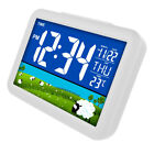Ultra Large Time Display Alarm Clock LCD Color Screen Display Clock