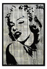 Loui Jover Marilyn Poster Magnetic Notice Board Inc Magnets