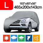15ft Full Car Cover Waterproof UV Rain Snow Dust Resistant All Weather Protector