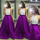 Women Formal Wedding Bridesmaid Evening Party Ball Prom Gown Long Maxi Dress