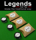 Legends Pure Cue Tips for Snooker & Pool Cues - Pig Skin free & Alcohol free £39.99 GBP on eBay