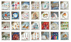 Medici Charity Christmas Cards 8 cello wrapped 164 x 164 mm 60p to charity