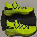Men's Under Armour Curry 6 High Visibility Yellow 3020612  Size 11 or 12