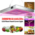 3000W 144 LED Grow Light Growing Lamp Full Spectrum For Veg Plant Hydroponic