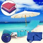 Beach Towels Sun Lounge Chair Cover With Tote Bag Large Pocket Poolside