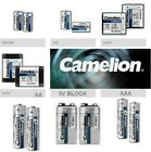 Batterie Lithium Stick Aa AAA Block 9V Foto 2CR5 CR2 CR123A CR-P2 Camelion