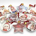 DIY Transparent Photo Five-star Ball Christmas Decorations X-mas Tree Hanging $6.99 USD on eBay