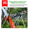 More images of Wolf-Garten Multi-Change Anvil Tree Lopper Cutter Pruner Tool, 4:1 Pully System