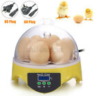 Automatic Digital Egg Incubator 7 Eggs Poultry Duck Hatchers Temperature