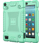 Flexible Rubber Silicone Case Kids Shockproof For Amazon Kindle Fire 7 7th / 9th