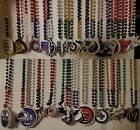 Mardi Gras Sports Beads OFFICIAL NHL TEAM LOGO Choose From 31 HOCKEY TEAMS NEW! $9.75 USD on eBay