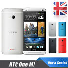 4.7'' Htc One M7 Android Smart Phone Factory Unlocked 32gb Mobile New & Sealed