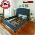All Sizes Bed Frame Sturdy Metal Mattress Base Replaces Bed Frame And Box Spring