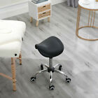 1/5Pcs Saddle Stool Rolling Chair For Office Massage Salon Kitchen Spa Drafting