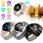 Stylish Bluetooth Women Smart Watch Waterproof Blood Pressure For Android IOS US