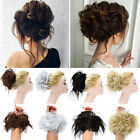 pretty girl chignon curly hair bun extensions scrunchie bun hair thick us stock