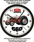 FORD 660 TRACTOR WALL CLOCK-FREE USA SHIP-John Deere, Farmall, International