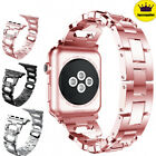 For Apple Watch Lady Stainless Steel Wrist iWatch Band Strap 38/44/40/42 mm image