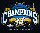 Milwaukee Brewers N. L. 2011 Central Division Champions Navy Blue T-Shirt on Ebay