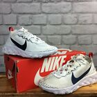 NIKE LADIES REACT ELEMENT 55 UNITE TOTALE WHITE NAVY RED TRAINERS T